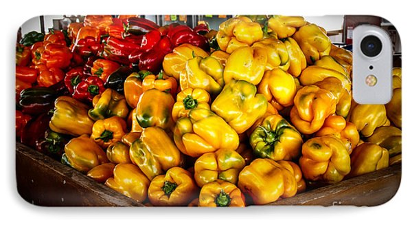 Bell Peppers Phone Case by Robert Bales