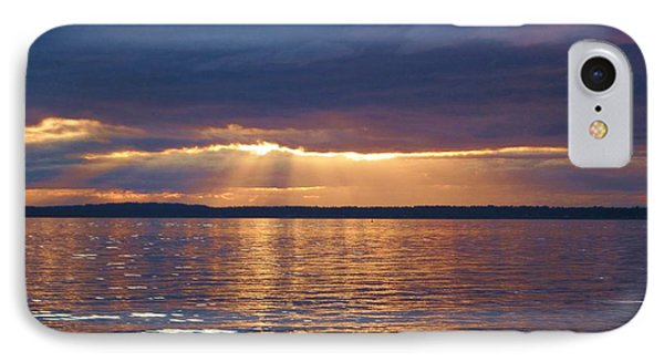IPhone Case featuring the photograph Bellingham Bay by Karen Molenaar Terrell