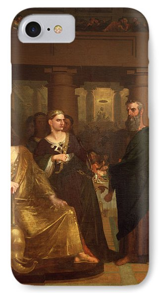 Belshazzar's Feast Phone Case by Washington Allston