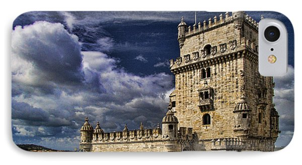 Belum Tower In Lisbon Portugal Phone Case by David Smith