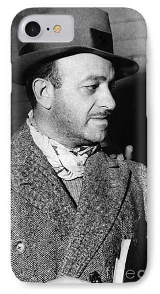 Ben Hecht (1894-1964) Phone Case by Granger