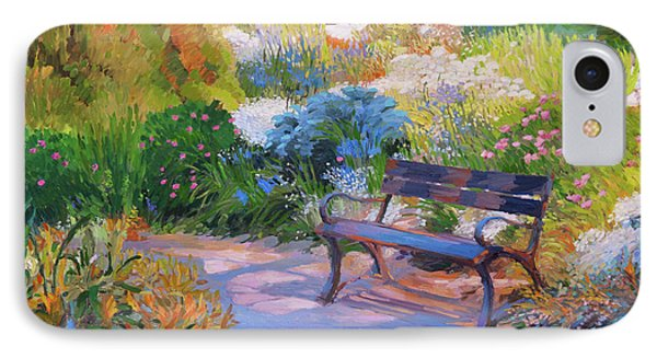 Bench On Margaret Island IPhone Case