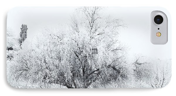 Beneath A Frosty Canopy Phone Case by Mike  Dawson