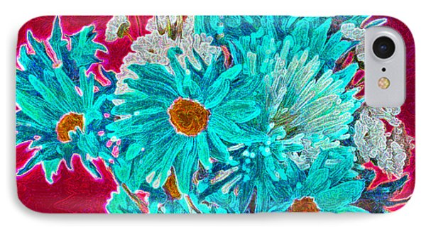 Beneath The Bouquet IPhone Case by Rita Brown