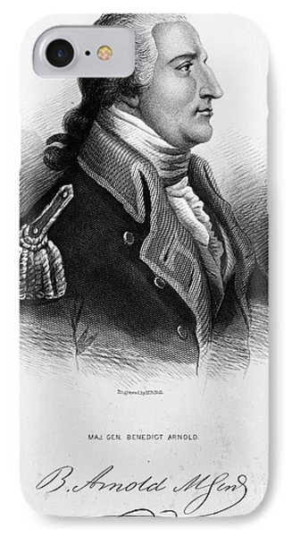 Benedict Arnold, American Traitor Phone Case by Omikron