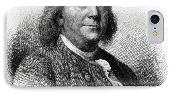 IPhone Case featuring the photograph Benjamin Franklin by International  Images