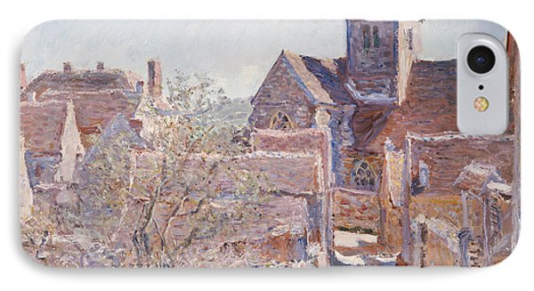 Bennecourt Phone Case by Claude Monet