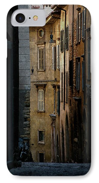 Bergamo Alley IPhone Case by Perry Van Munster