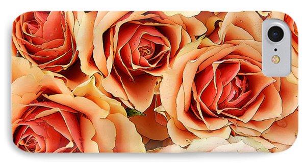 Bergen Roses IPhone Case by KG Thienemann