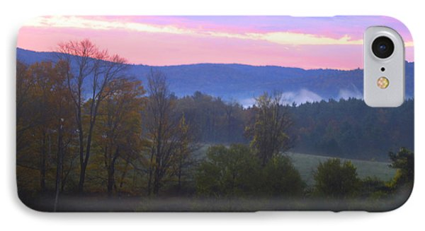 Berkshires Sunrise Phone Case by Todd Breitling