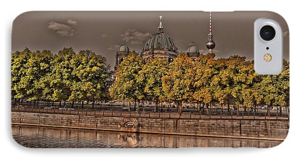 IPhone Case featuring the photograph Berlin Cathedral ... by Juergen Weiss