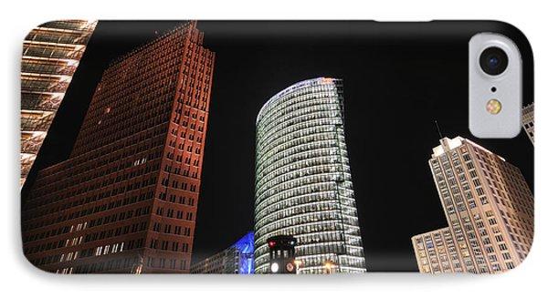 Berlin Potsdamer Platz Potsdam Square Germany Phone Case by Matthias Hauser