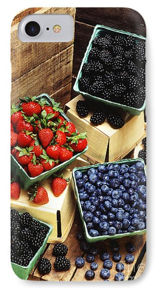 Berries Phone Case by Photo Researchers