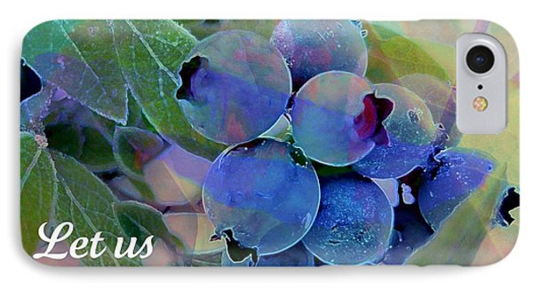 Berry Beautiful Phone Case by Shirley Sirois