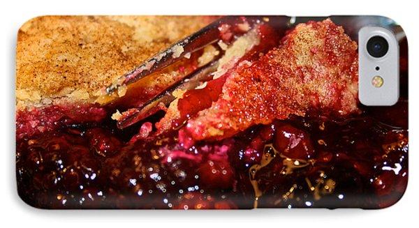 Berry Burst Bite Phone Case by Susan Herber