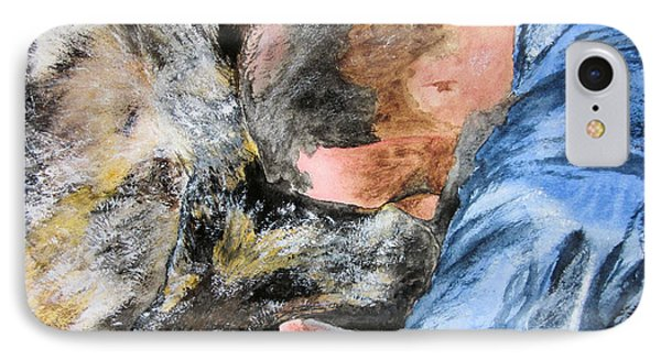Best Friends-watercolor Study IPhone Case