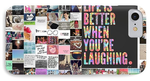 Better To Laugh IPhone Case by Holley Jacobs