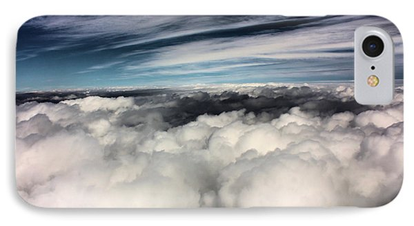 Between Heaven And A Soft Place Phone Case by Kristin Elmquist