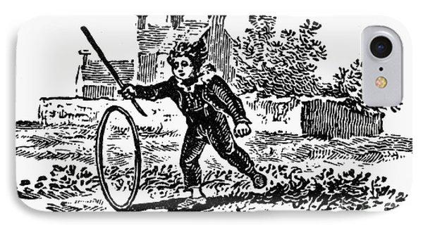 Bewick: Boy With Hoop Phone Case by Granger