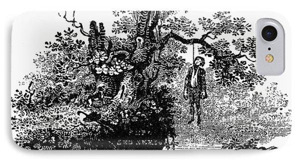 Bewick: Hanged Man Phone Case by Granger
