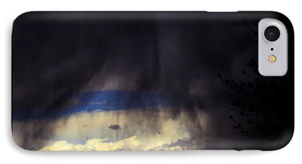 IPhone Case featuring the photograph Beyond The Veil by Susanne Still