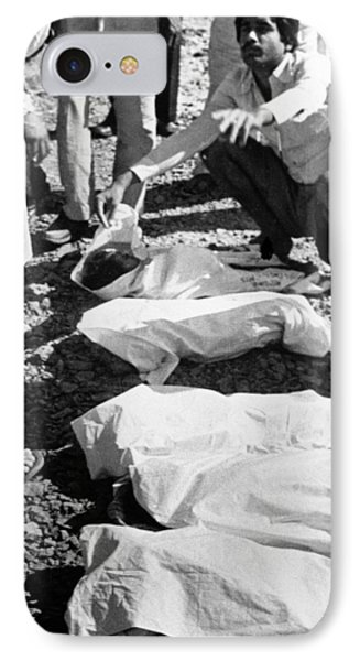 Bhopal Disaster Victims, India, 1984 Phone Case by Ria Novosti