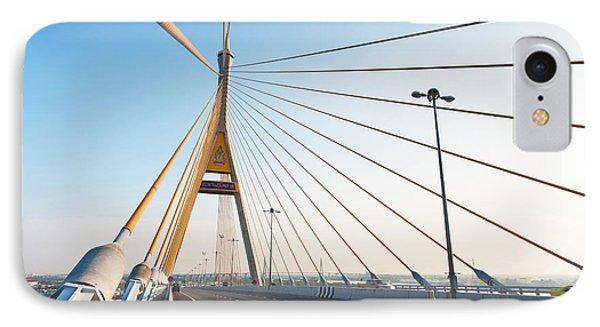 Bhumipol Bridge Phone Case by Atiketta Sangasaeng