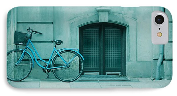 Bicycle Blues Phone Case by Sophie Vigneault