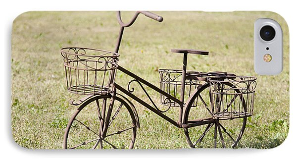 Bicycle Lawn Ornament Phone Case by Jaak Nilson