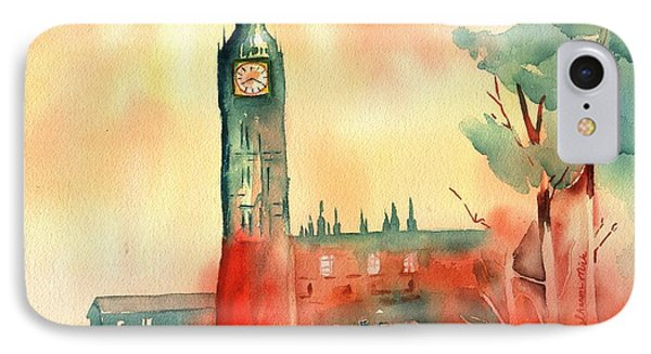 Big Ben    Elizabeth Tower IPhone Case by Sharon Mick