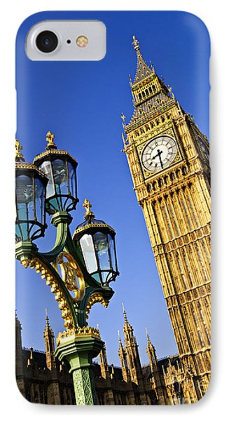 Big Ben And Palace Of Westminster Phone Case by Elena Elisseeva