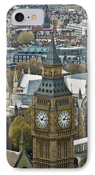 Big Ben Up Close And Personal Phone Case by Douglas Barnett