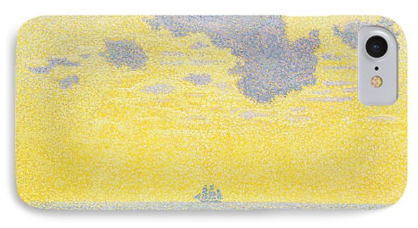 Big Clouds IPhone Case by Theo van Rysselberghe