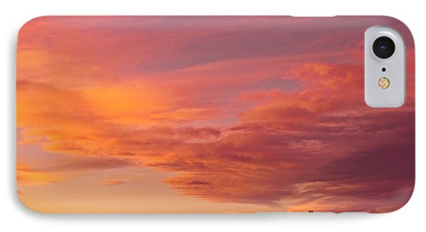 Big Colorful Colorado Sky And Little House On The Prairie Phone Case by James BO  Insogna