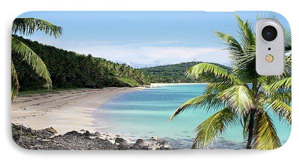 Big Corn Island Beach Nicaragua IPhone Case by John  Mitchell