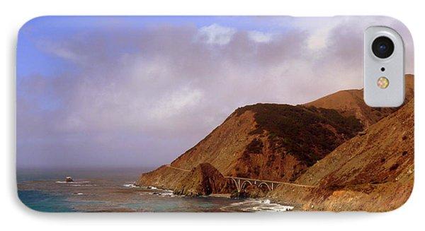 Big Creek Bridge IPhone Case by Jeff Lowe