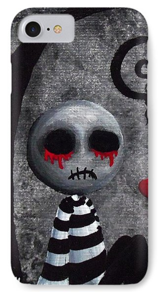 Big Juicy Tears Of Blood And Pain 2 Phone Case by Oddball Art Co by Lizzy Love