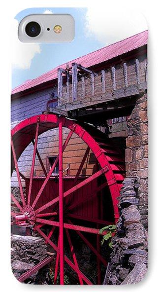 Big Red Wheel Phone Case by Sandi OReilly