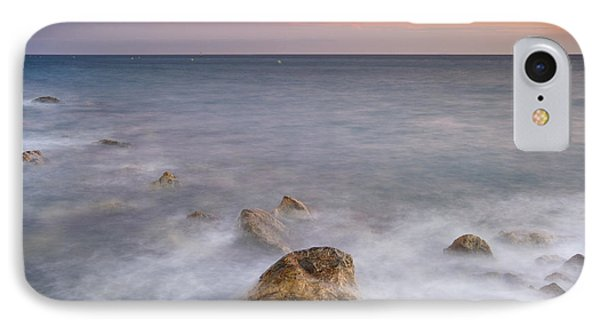 Big Rock Against The Waves Phone Case by Guido Montanes Castillo