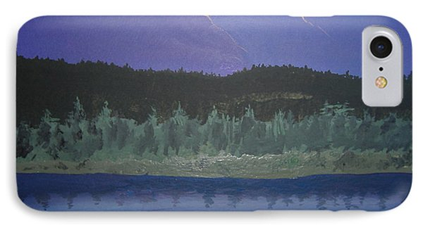 IPhone Case featuring the painting Big Sky Country by Norm Starks