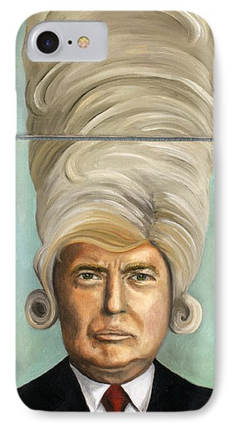 Big Wig Phone Case by Leah Saulnier The Painting Maniac