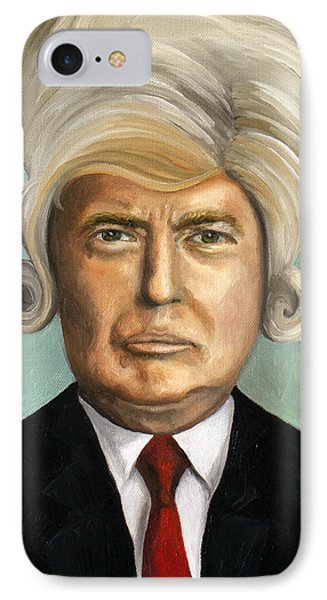 Big Wig Part 1 IPhone Case by Leah Saulnier The Painting Maniac
