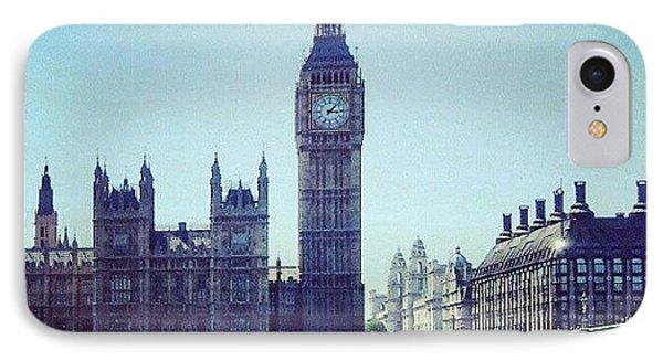#bigben #buildings #westminster IPhone Case by Abdelrahman Alawwad