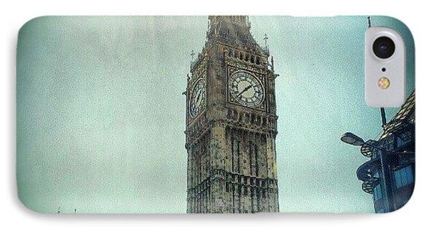London iPhone 7 Case - #bigben #uk #england #london #londoneye by Abdelrahman Alawwad