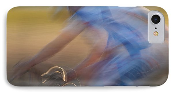 Bike Race 2 IPhone Case by Catherine Lau