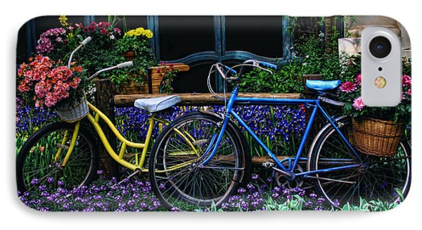 IPhone Case featuring the photograph Bike Ride by Tammy Espino