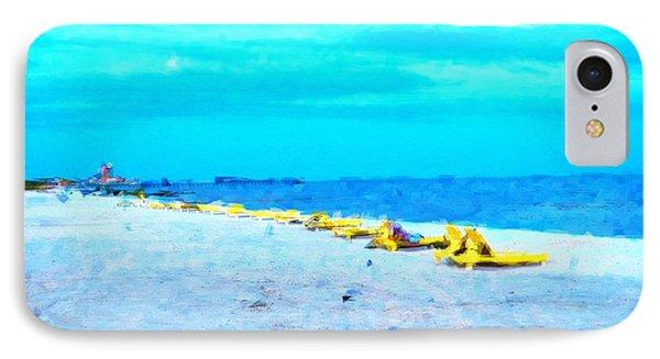 Biloxi Beach Phone Case by Scott Crump
