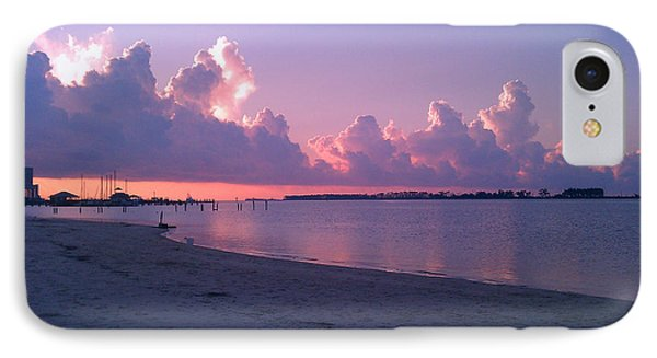 IPhone Case featuring the photograph Biloxi Sunrise by Brian Wright