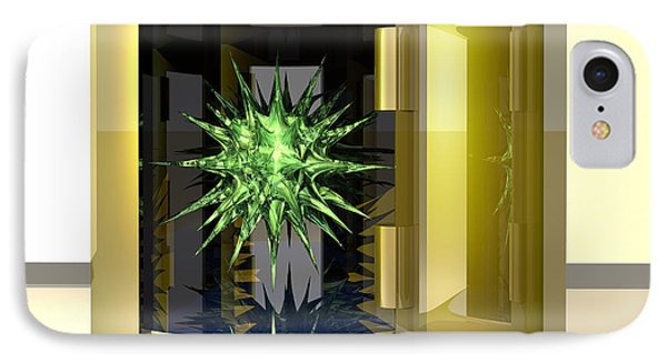 Biohazard Virus Phone Case by Laguna Design