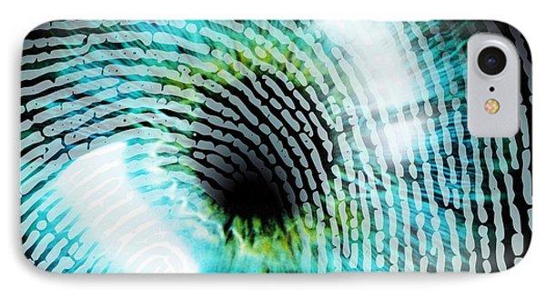 Biometric Identification Phone Case by Pasieka